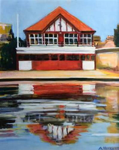 boathouse on the cam